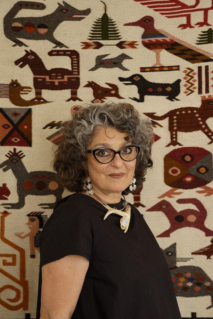Nasma Al Amir, storyteller, artist, shaman, therapist - portrait by Philippe Pache