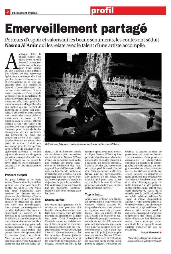 Nasma Al Amir storyteller