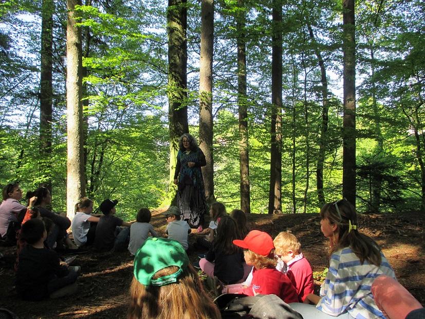 Contes de la Forêt par Nasma Al Amir avec la Bibliothèque d'Epalinges